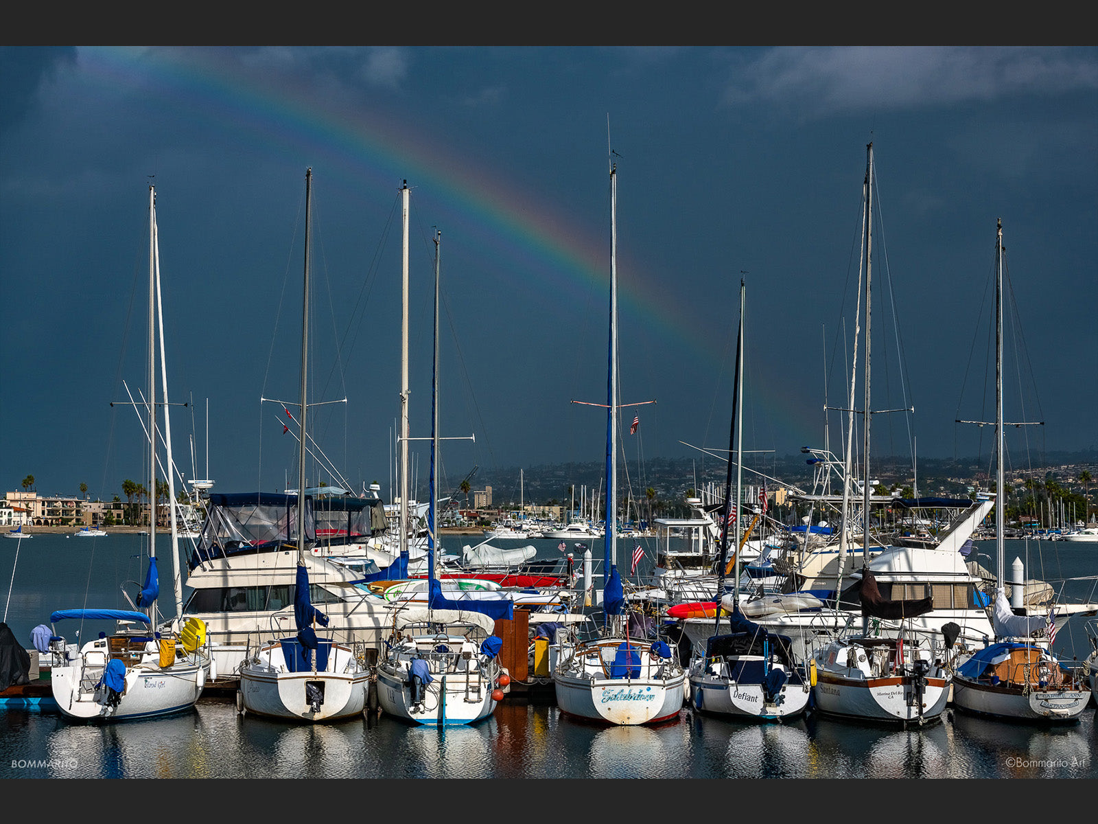 Mission Bay Rainbow