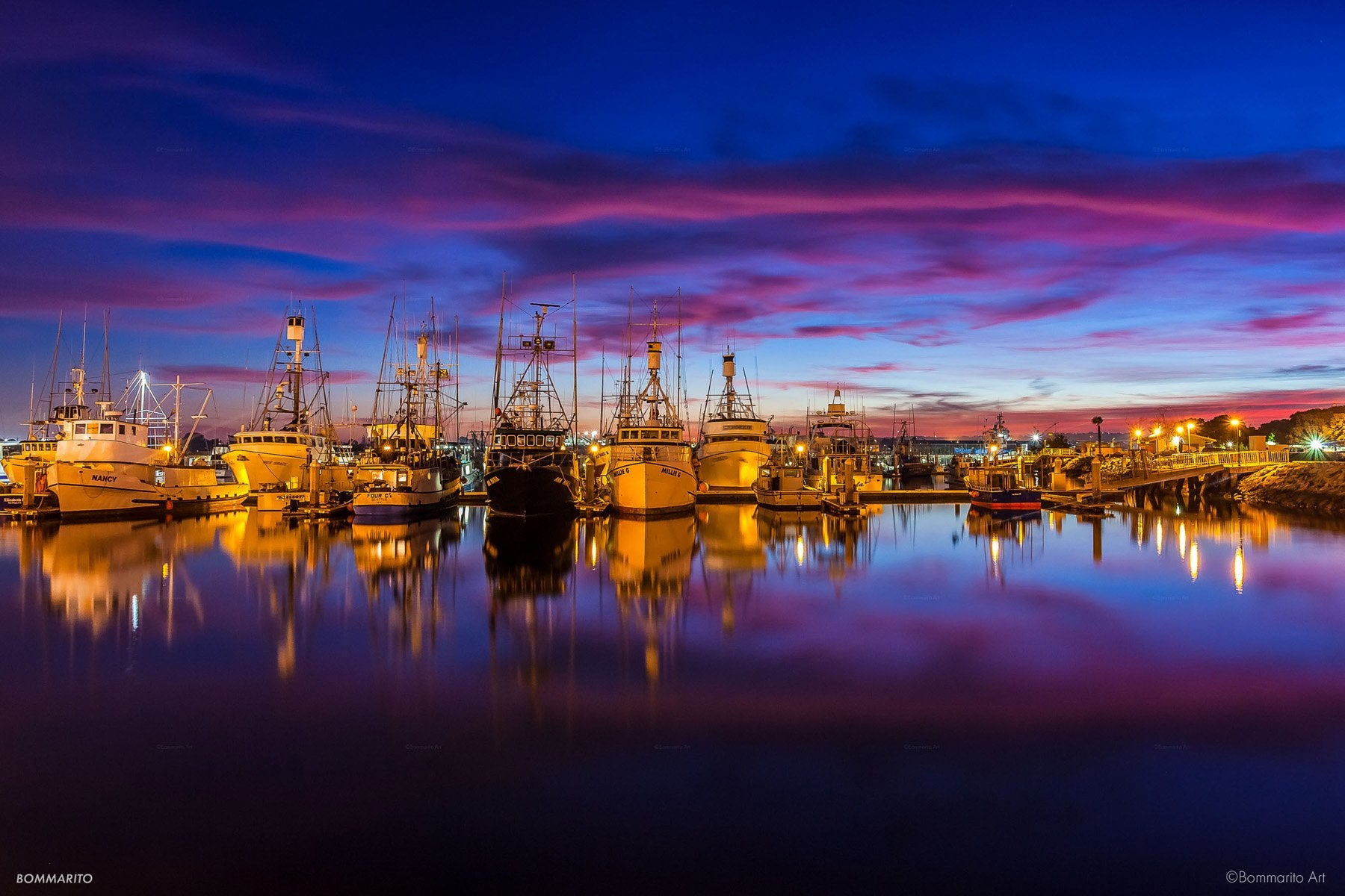 Tuna Harbor Twilight
