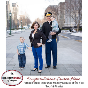 Top 18 Finalist: Armed Forces Insurance Military Spouse of the Year