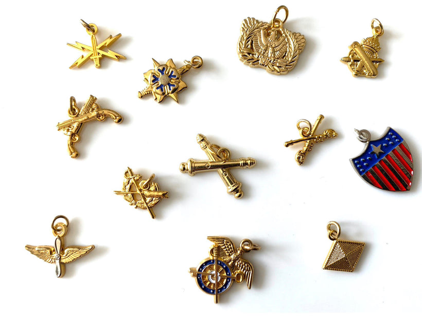 Army Branch Charms
