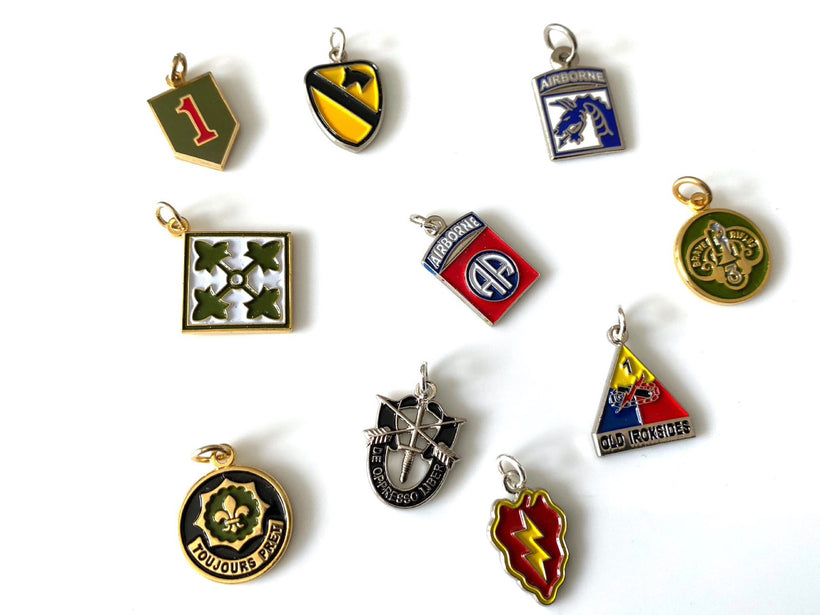 Army Unit Charms