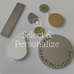 Step 2: Select & Personalize