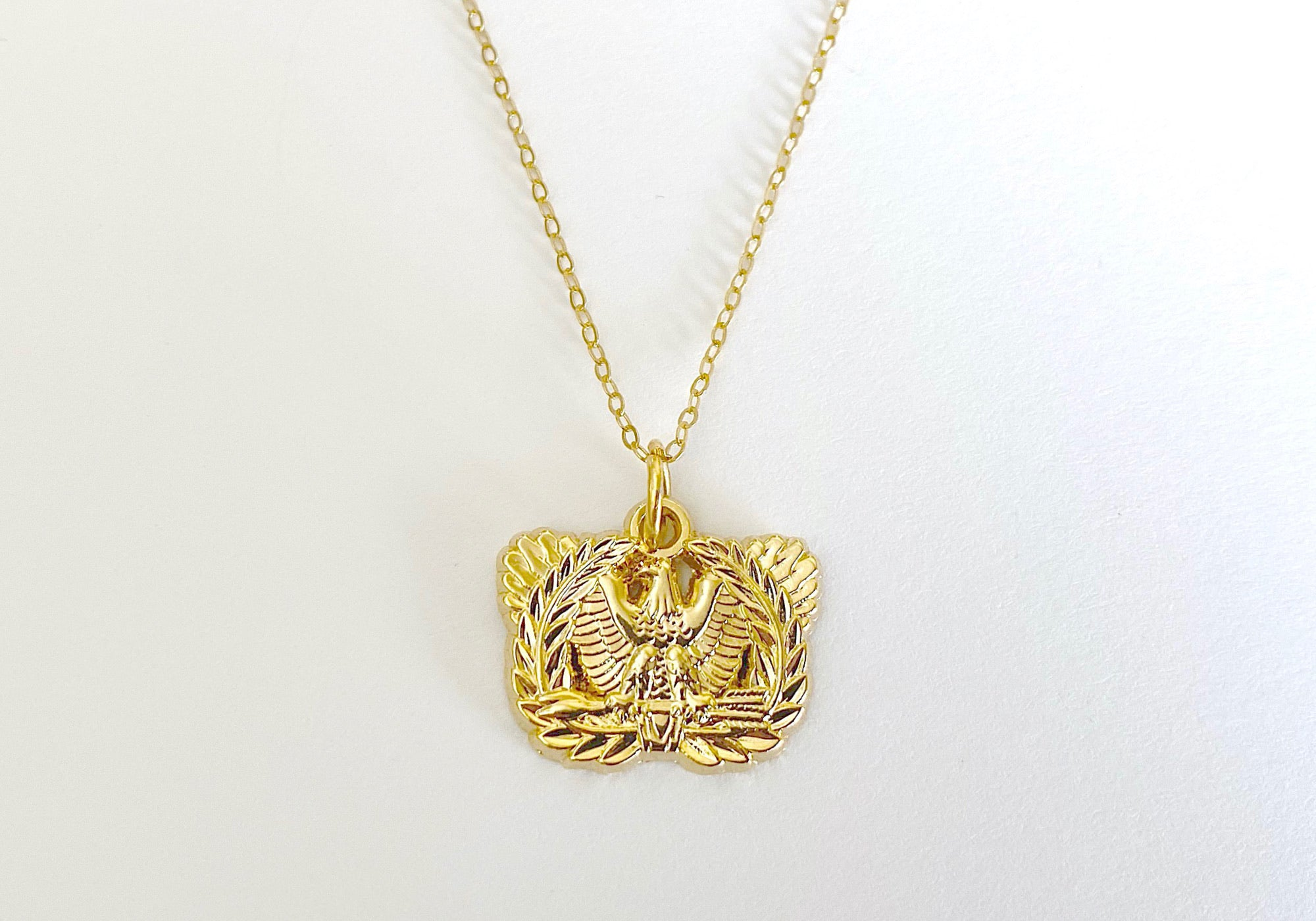 Warrant Officer Charm Necklace
