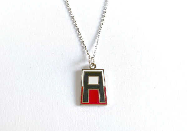 1st Army Division Charm Necklace