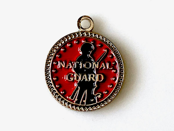 HDL National Guard Charm