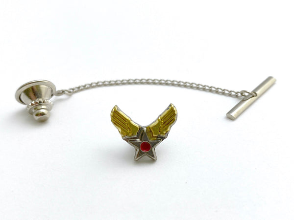 WWII-era Vintage Hap Arnold Wings Tie Tack | Aviation
