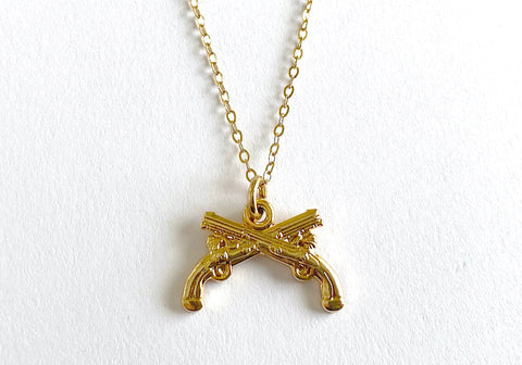 Military Police (MP) Charm Necklace