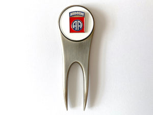 82nd Airborne Division Golf Divot Tool and Ball Marker