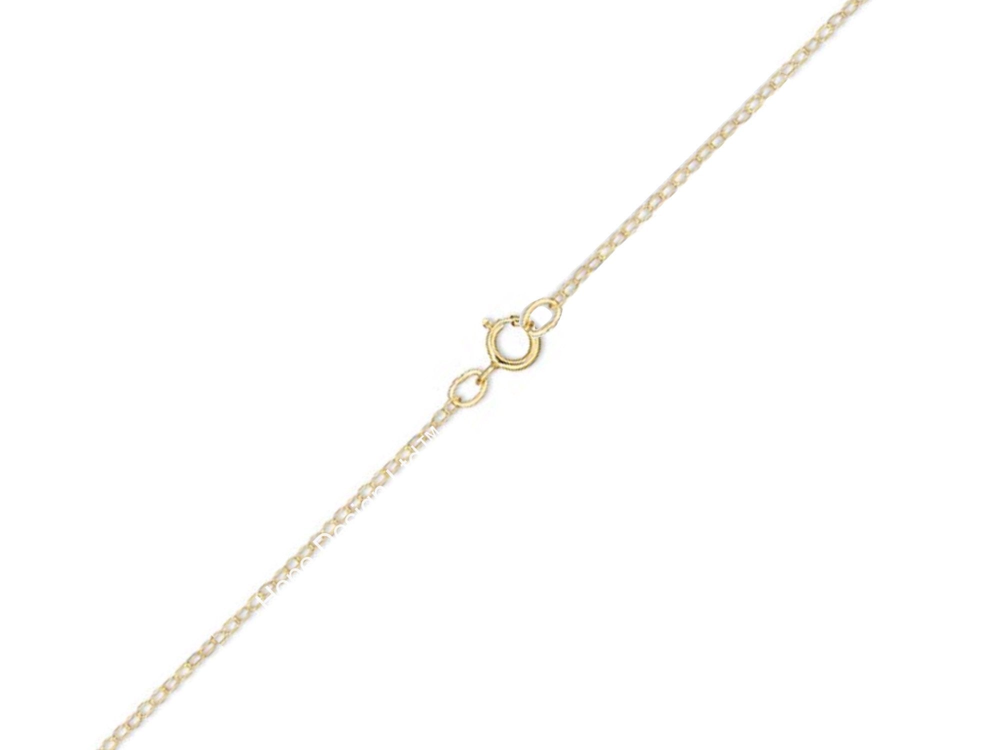 Gold-Plated Sterling Silver Chain