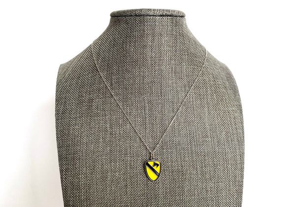 1st Cavalry Division Charm Necklace