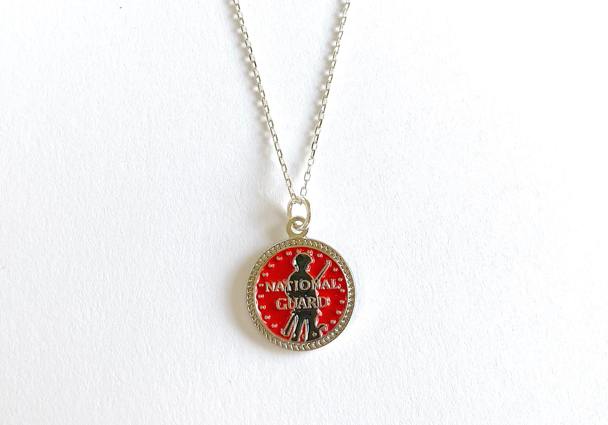 National Guard Charm Necklace