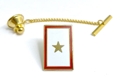 Gold Star Tie Tack