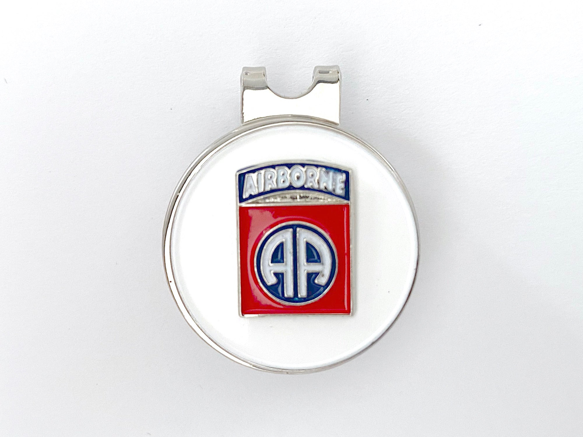 82nd Airborne Division Golf Hat Clip and Ball Marker