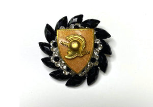 West Point (USMA) Class Brass One of a Kind Brooch BR326