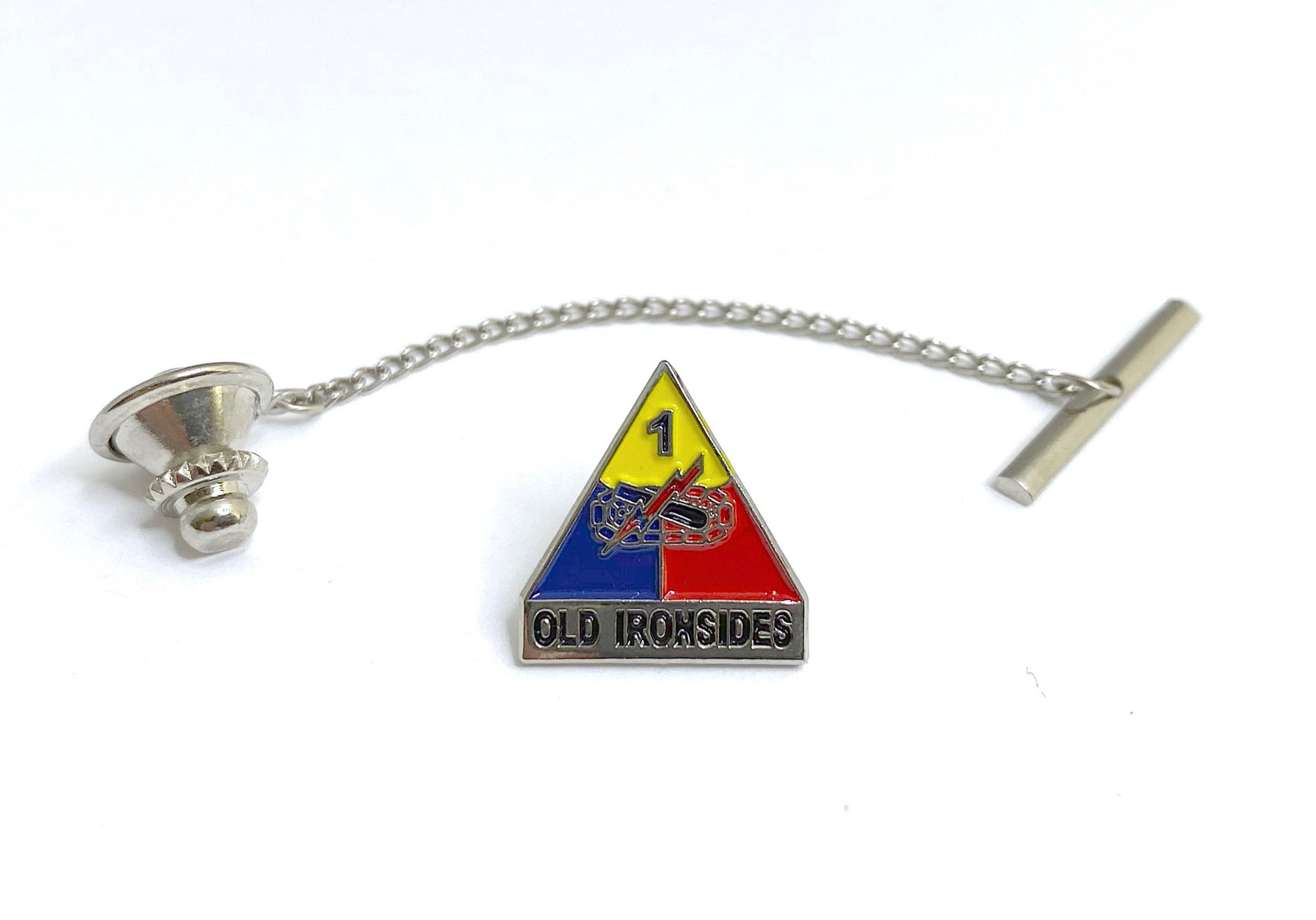 1st Armored Division Tie Tack