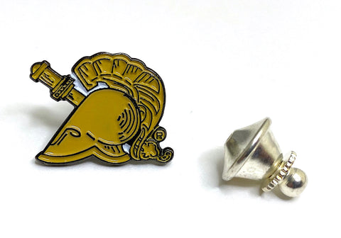 USMA Tan Athena Lapel Pin