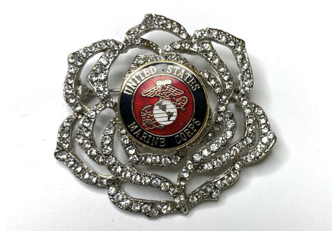 US Marine Corps Limited Edition Brooch BR306