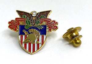 USMA Large Crest Lapel Pin