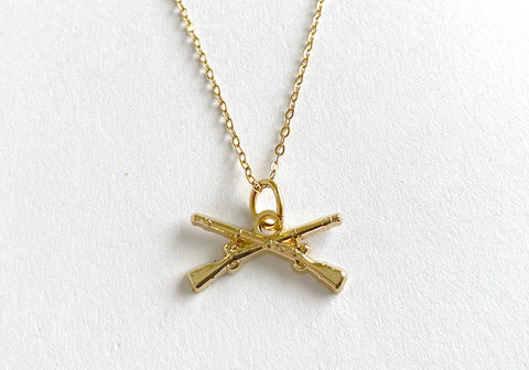 Infantry Charm Necklace