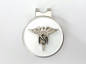 Medical Service Corps Golf Hat Clip and Ball Marker