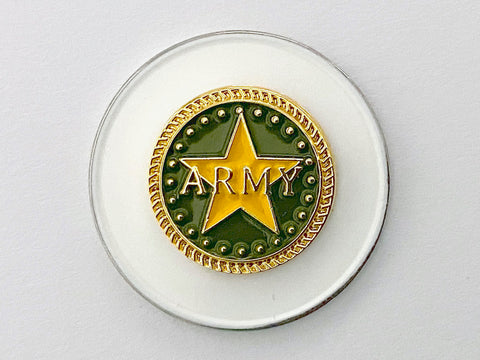 Army Golf Hat Clip and Ball Marker