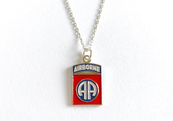 82nd Airborne Division Charm Necklace