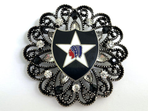 2nd Infantry Division (2ID) Limited Edition Brooch BR414