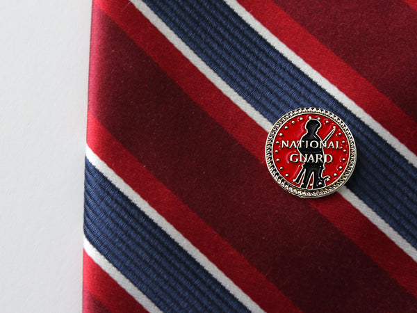 National Guard Gold Tie Tack