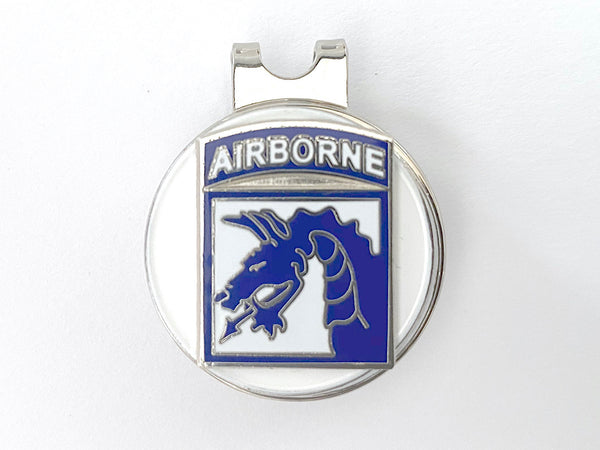 XVIII Airborne Corps Golf Hat Clip and Ball Marker