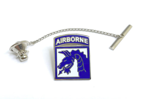 US Army XVIII Airborne Corps (18th Airborne Corps) Tie Tack