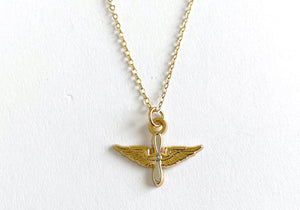 Aviation Charm Necklace