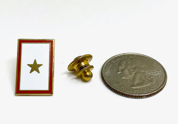 Gold Star Lapel Pin