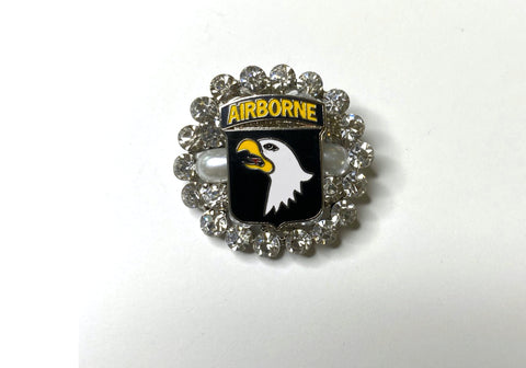 101st Airborne Division one of a Kind Brooch BR356