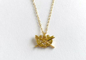 Judge Advocate General's Corps (JAG) Charm Necklace