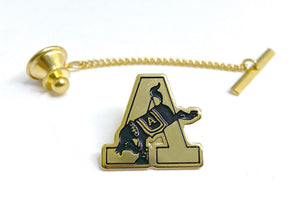 "USMA Army ""A"" Gold Tie Tack"