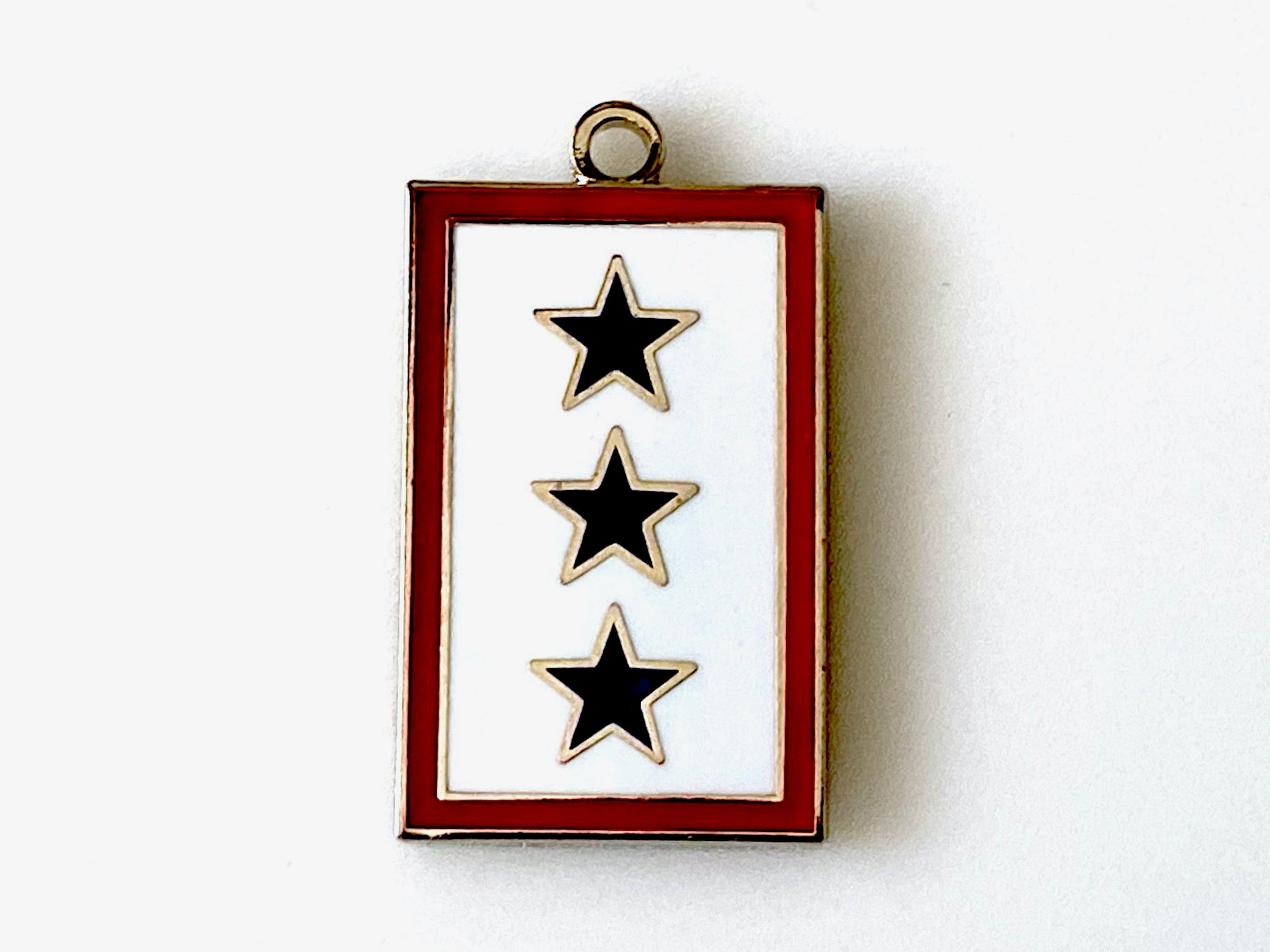 3 Blue Star Service Flag Charm