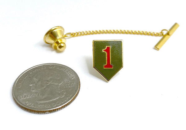 1st Infantry Division Tie Tack