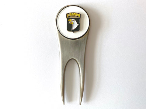 101st Airborne Division Golf Divot Tool and Ball Marker