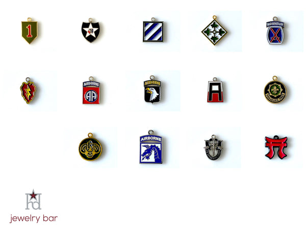82nd Airborne Division - Army Unit Charm