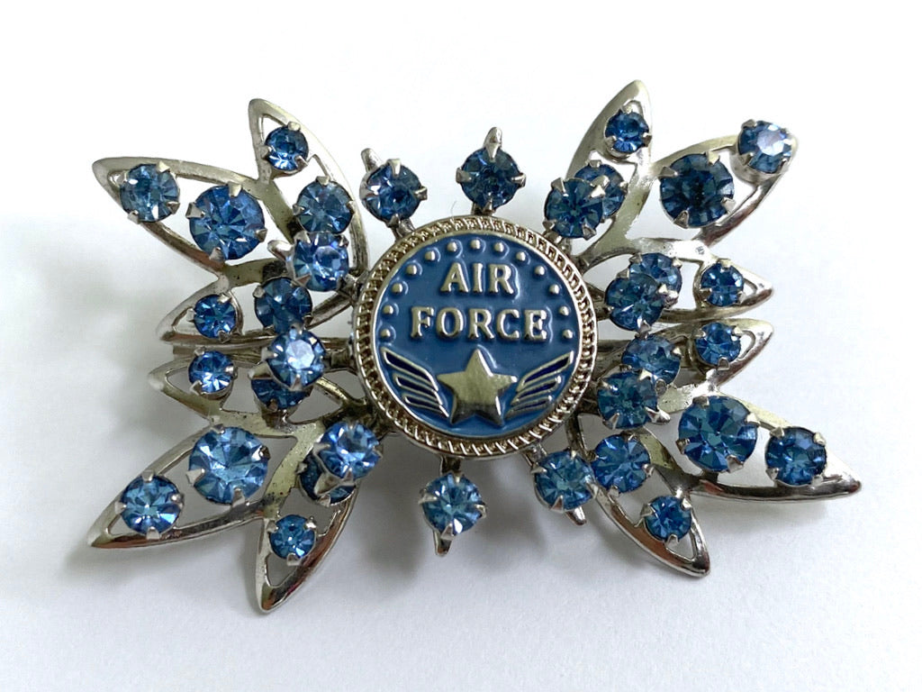 Air Force One of a Kind Brooch BR404