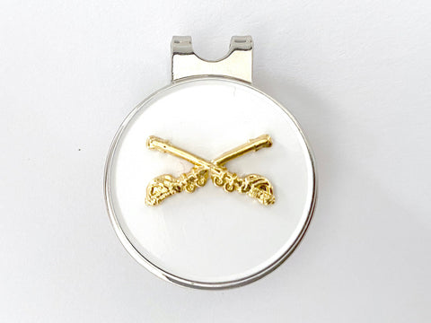 Cavalry Golf Hat Clip and Ball Marker