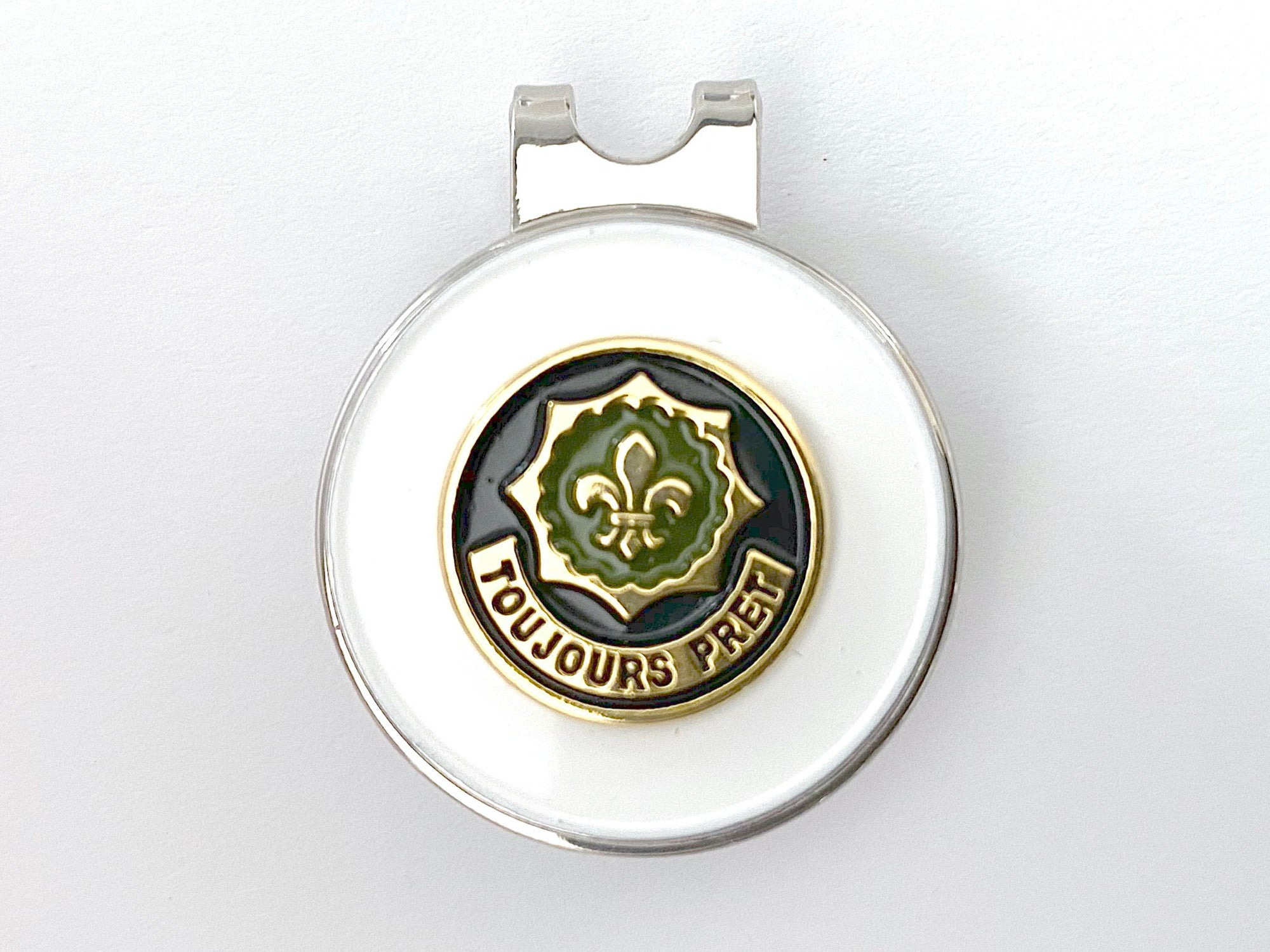 2nd Cavalry Regiment Golf Hat Clip and Ball Marker