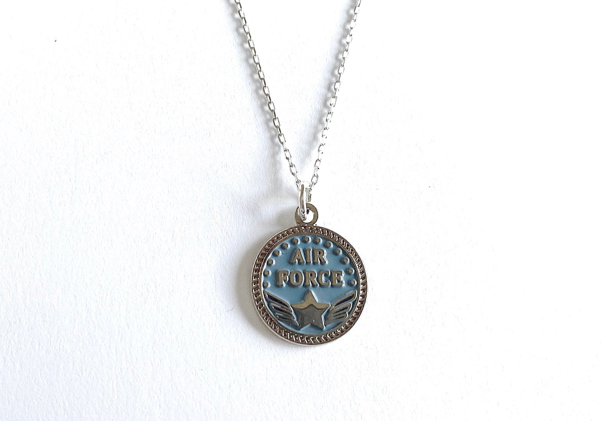 Air Force Charm Necklace