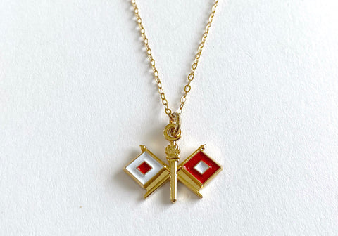 Signal Charm Necklace