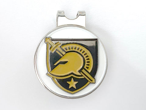 USMA Athletic Logo Golf Hat Clip and Ball Marker