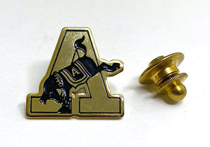 USMA Gold Army A Lapel Pin