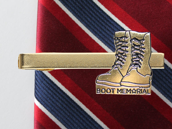 Boot Memorial Tie Clip