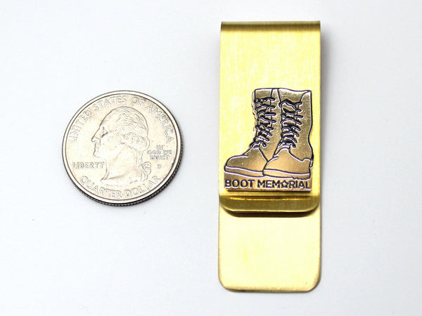 Boot Memorial Money Clip