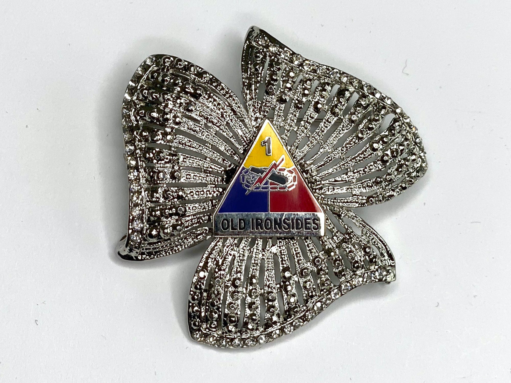 1st Armored Division Limited Edition Brooch BR173