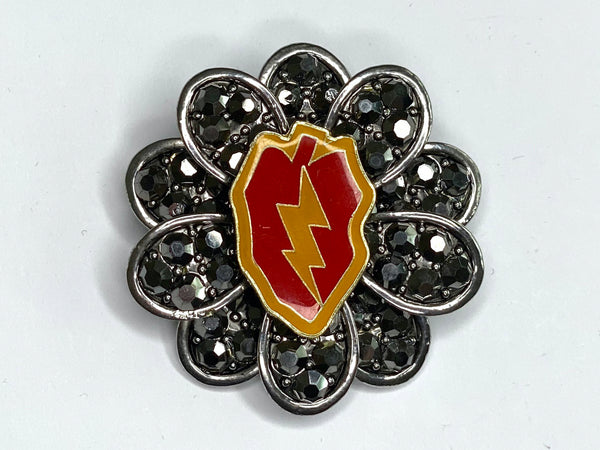25th Infantry Limited Edition Brooch BR171